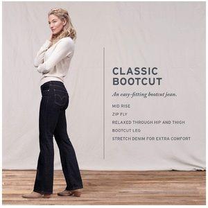 NWOT Levi's Black boot cut jeans ✨